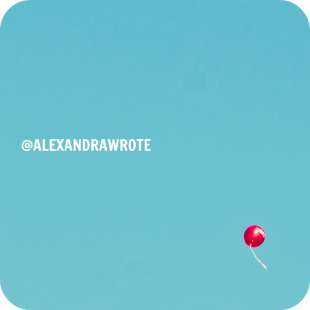 red balloon alexandra wrote autism speaks cancer