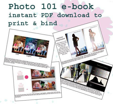 Jules Bianchi E-Book Photography 101